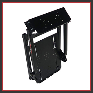 Fully adjustable racing stand for better functionality foldable compact easy to store