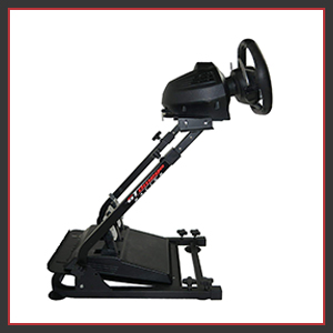 Our wheel stand has high-quality anti sliding rubber adjustable angle tilt