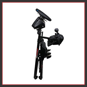 Fully adjustable racing stand for better functionality foldable easy storage space saving