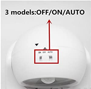 Woophen Indoor Bright Wireless Fulcrum Motion Sensor Led