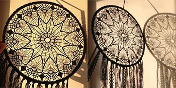 Dream Catchers Crochet Lace
