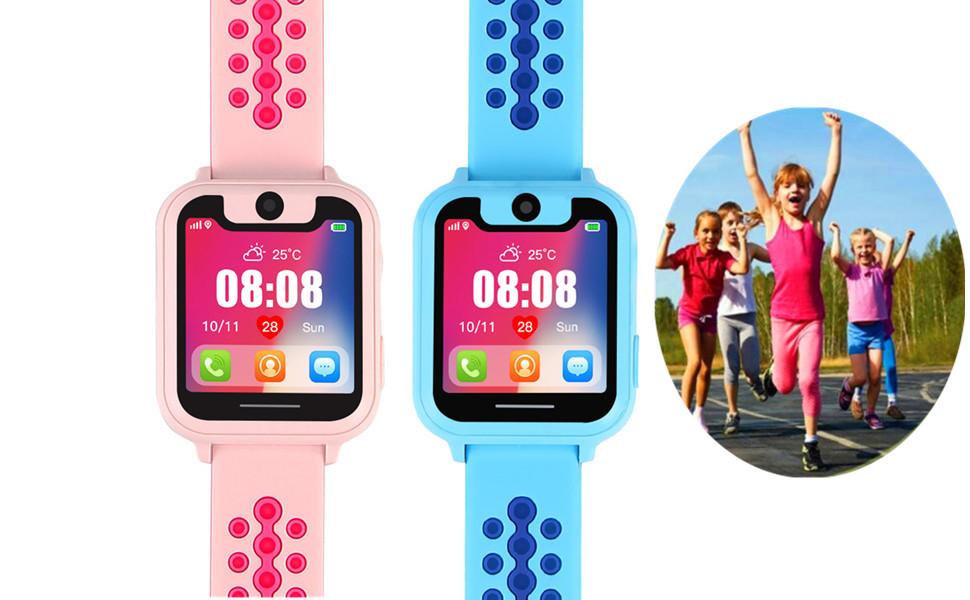 Amazon.com: Reloj inteligente para niños con rastreador GPS ...