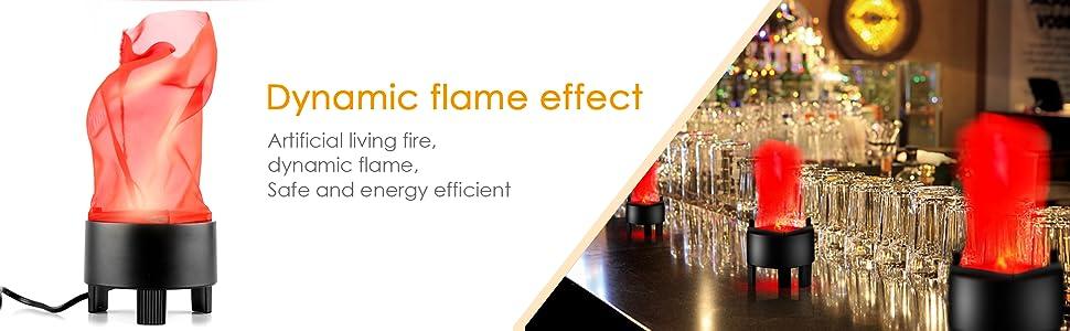 LED Fake Fire Flame