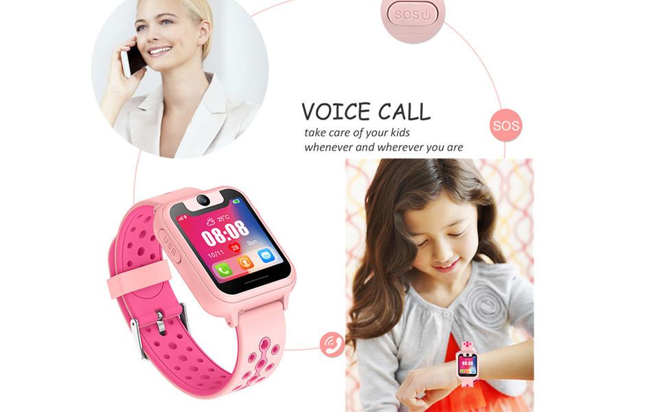 Kids Smart Watches GPS Tracker Phone