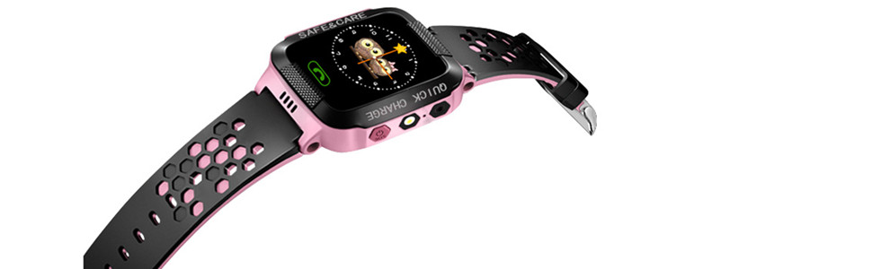 ele ELEOPTION Kids Smart Watches With GPS Tracker Phone Call for Boys Girls, Digital Wrist Watch, Sport Smart Watch, Touch Screen Cellphone Camera ...