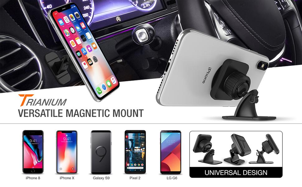 Trianium Phone Car Mount Magnetic Holder