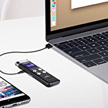 voice recorder with usb