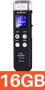digital voice recorder 16gb