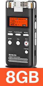 voice recorder 8gb l53