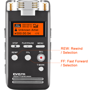 Voice Recorder fast forward