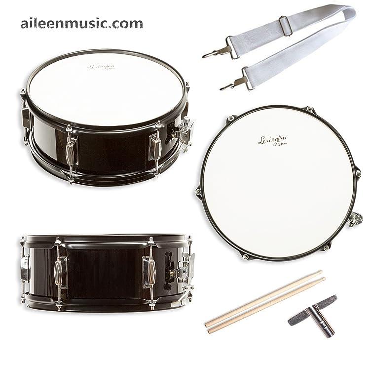 snare drum set student steel shell 14 x 5 5 includes drum key drumsticks and. Black Bedroom Furniture Sets. Home Design Ideas