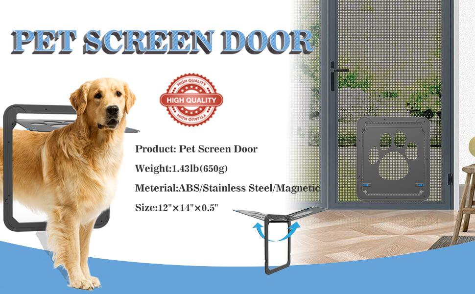 Amazon Namsan Pet Screen Door Dog Door For Sliding Door