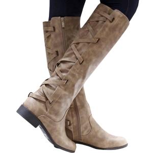 winter cute knee high boots