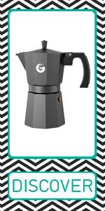 Coffee Gator stovetop espresso maker moka