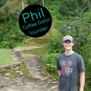 Coffee Gator founder Phil in Colombia
