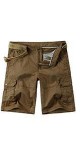 Men's Casual Classic-Fit Cargo Short
