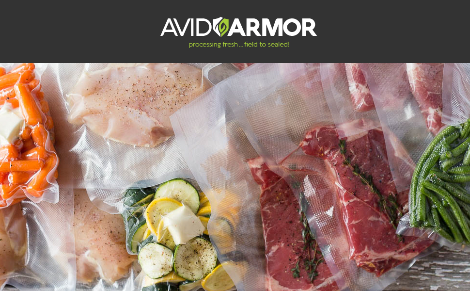 Avid Armor brand vacuum sealing equipment