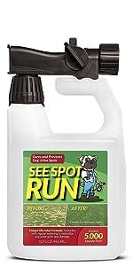see spot run 32 ounce hose end sprayer bottle