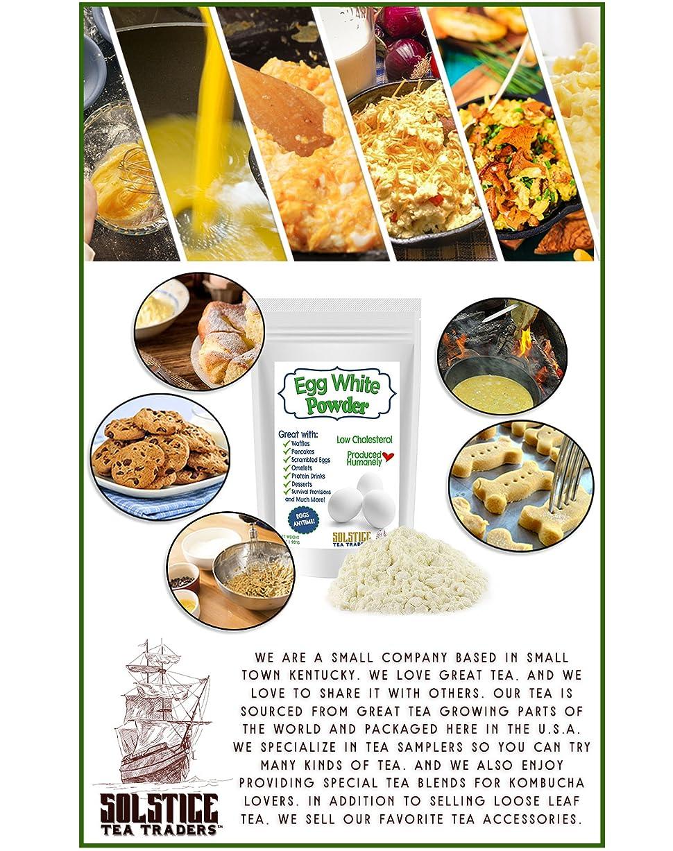 Amazon.com : Dehydrated Egg White Powder, 2Lbs Dried Powdered Egg ...