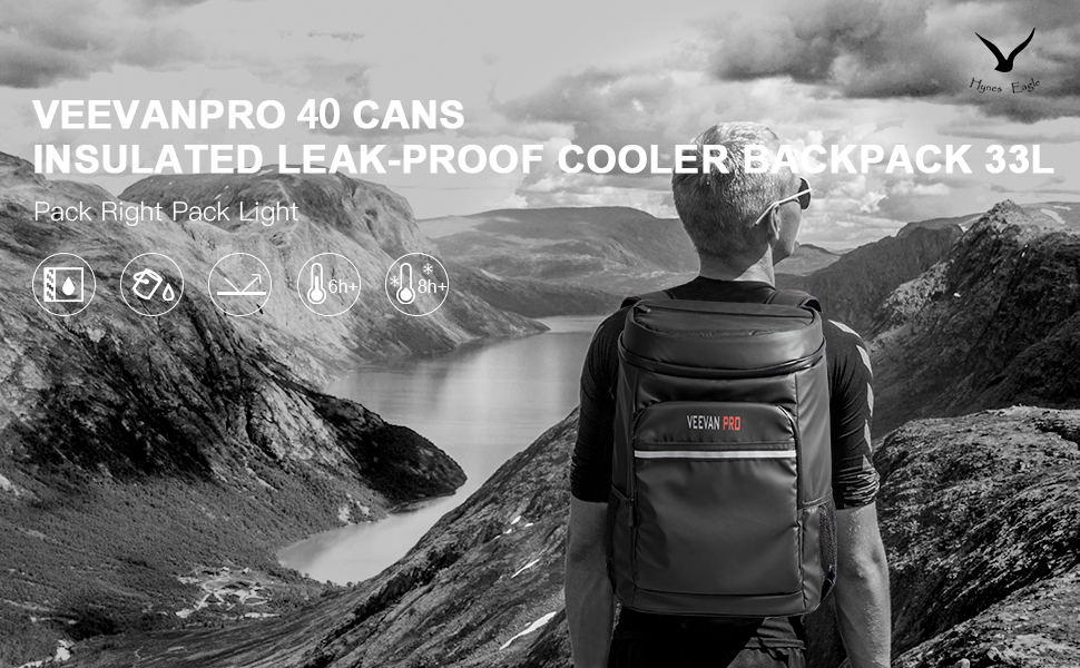 Beach Road Trip Picnic Park Mier Insulated Cooler Backpack Leakproof Soft Cooler Bag For Lunch 24can Outdoor Cooler Bag Bringing More Convenience To The People In Their Daily Life