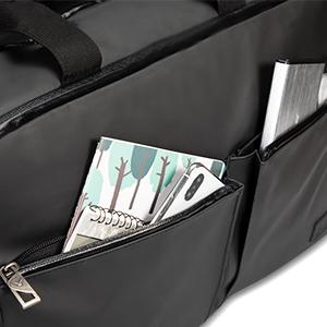 Front Dual Zip Pockets