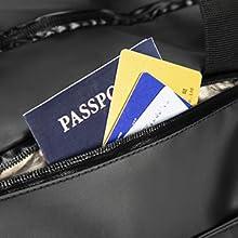 RFID blocked pocket