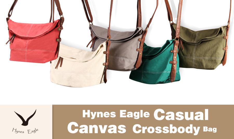 6199cc3c58 Amazon.com  Hynes Eagle Casual Canvas Crossbody Bags for Women or ...