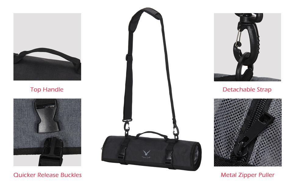 2fdd811365a Amazon.com   Hynes Eagle Lightweight Roll-Up Travel Bag Portable ...