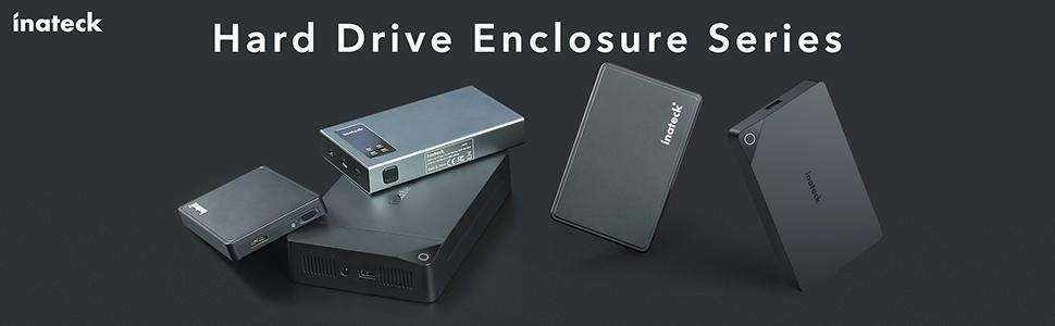 2.5 inch Hard drive enclosure