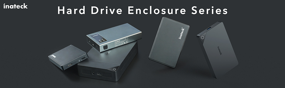 "2.5"" /3.5"" hard drive enclosures"