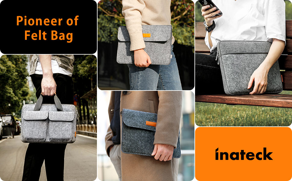 pioneer of felt bag