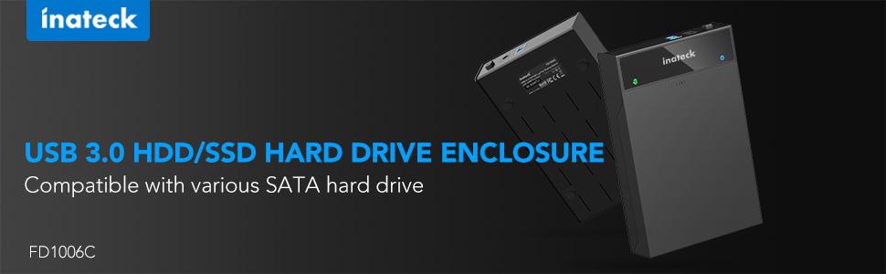 USB 3.0 HDD /SSD Hard drive enclosure
