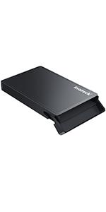 Sata hard drive enclosure