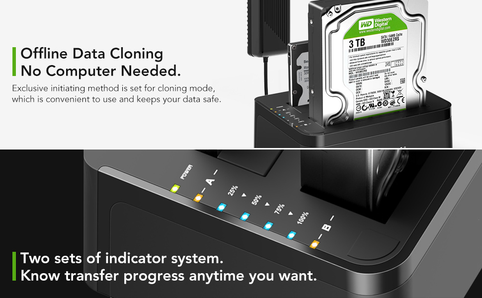 external hard drive docking station