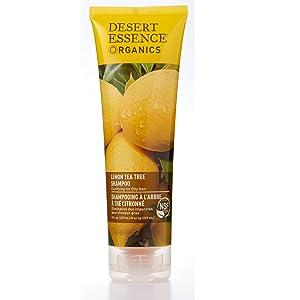 Organics Lemon Tea Tree Shampoo