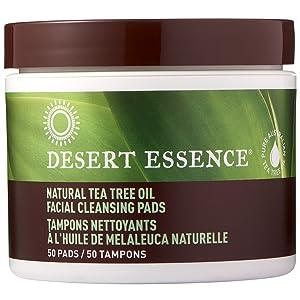 Natural Tea Tree Oil Facial Cleansing Pads