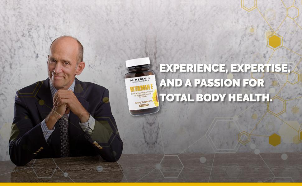 Dr. Mercola and vitamin e