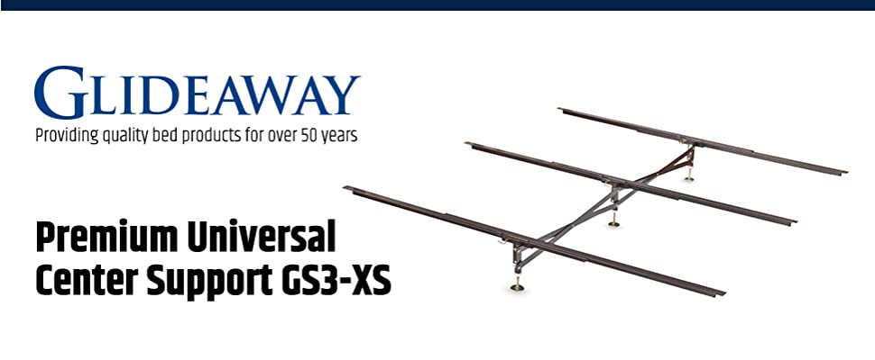 revolutionary x brace center support for your bed - Glideaway Bed Frames