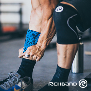 094f1f13d8 Amazon.com: Rehband Core Line Knee Support 7751 5mm - Large - Gray ...