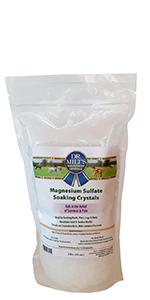 Magnesium Sulfate Soaking Crystals