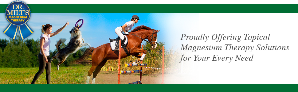 Proudly offering topical magnesium therapy solutions for your every need