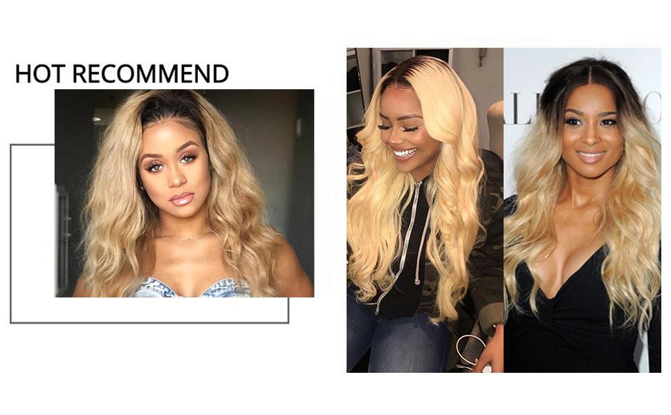 Amazon Nadula 10a Brazilian Blonde Body Wave Weave Remy Virgin