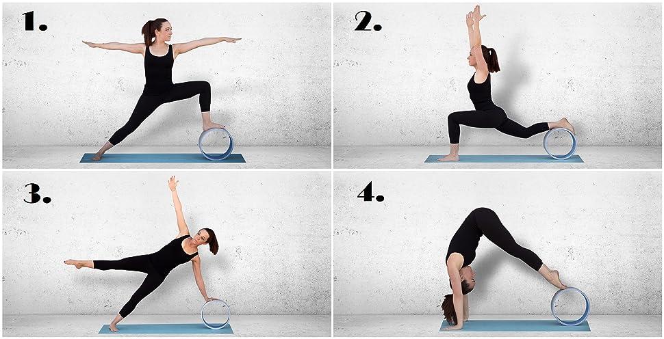 Amazon.com : LISH Yoga Wheel 12