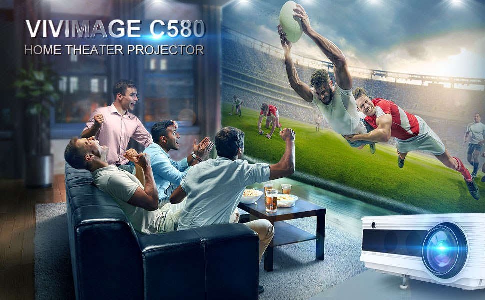 VIVIMAGE C580 home theater projector