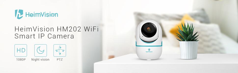 HeimVision Full HD 1080P безжична интелигентна IP камера за сигурност