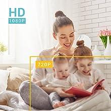 1080p Full HD безжична охранителна камера