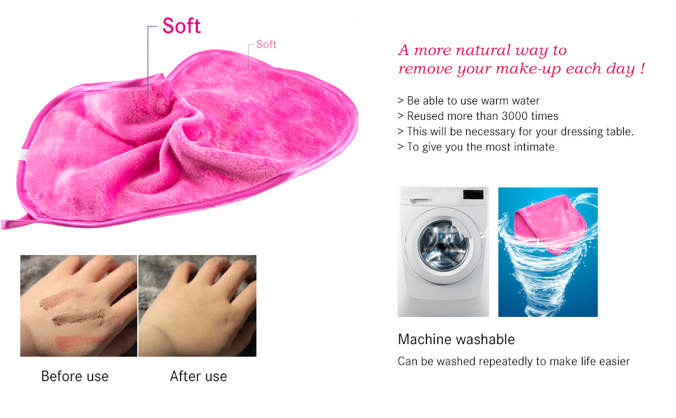 makeup remover cloth