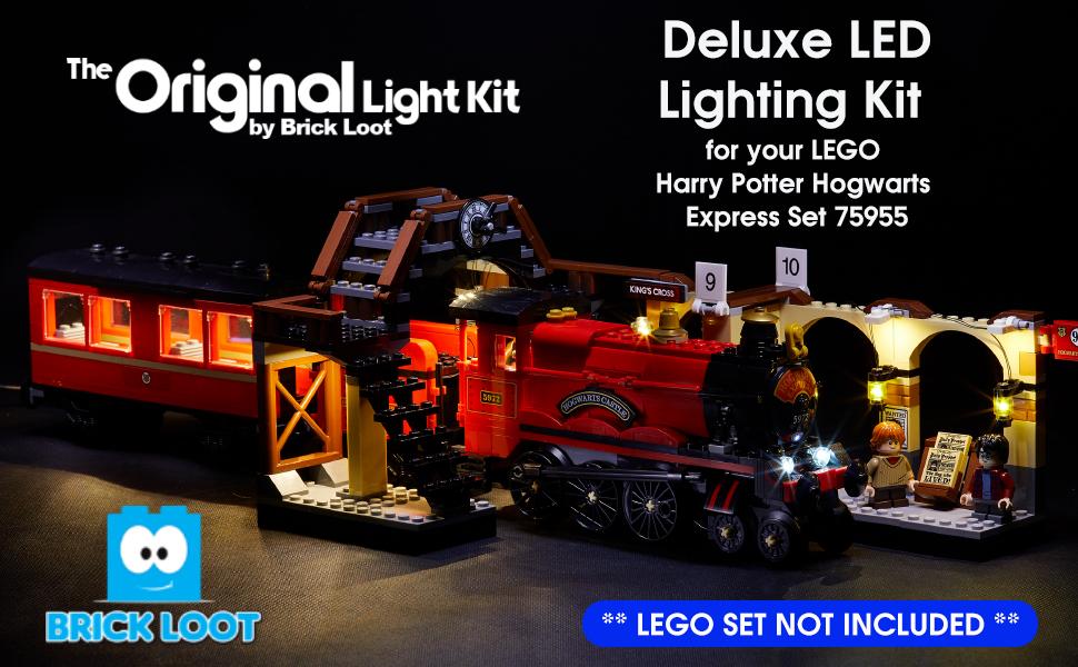 USB Powered LED Light Kit for Lego 75955 Hogwarts Express