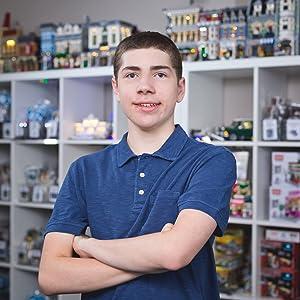 Parker Krex CEO of Brick Loot