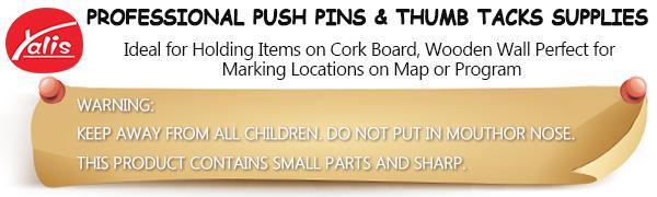 yalis push pins